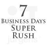 7 Business Day Rush